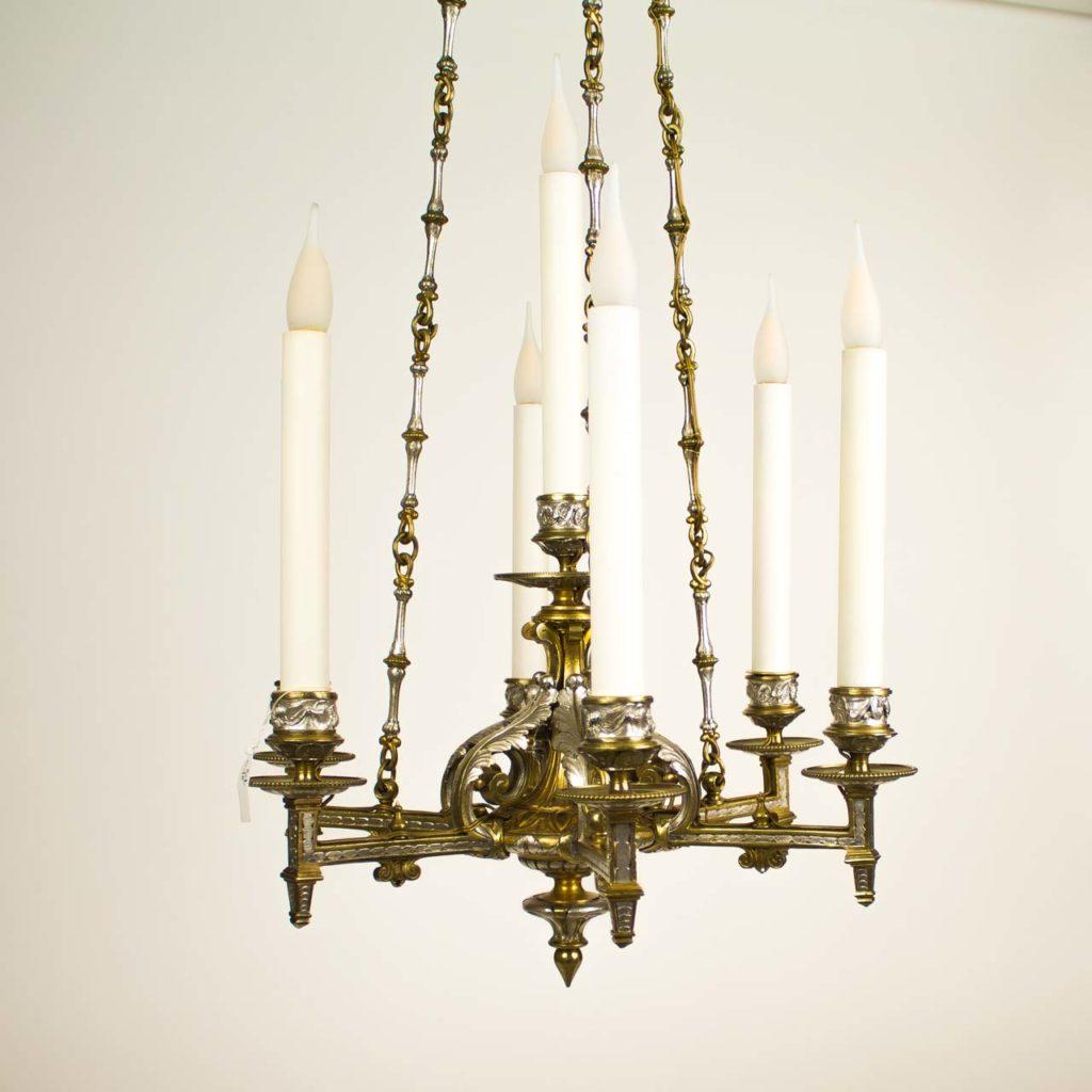 lustres bronze et cristal xviii me au xx me sylvie gransart. Black Bedroom Furniture Sets. Home Design Ideas