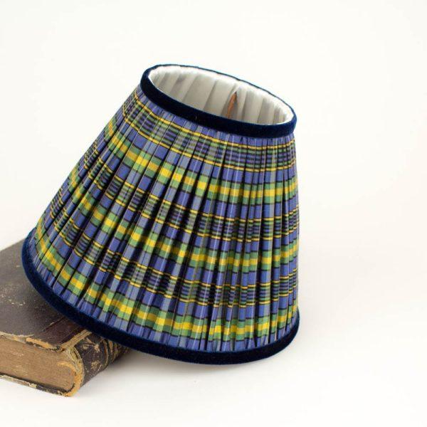 abat-jour-ecossais-jaune-bleu-a-carreaux