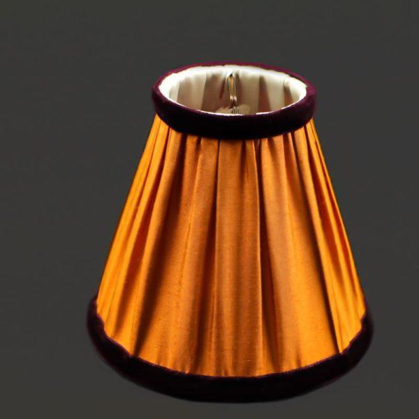 abat-jour-en-soie-orange