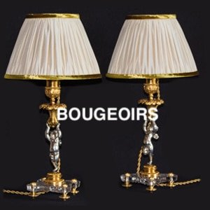 Bougeoirs anciens